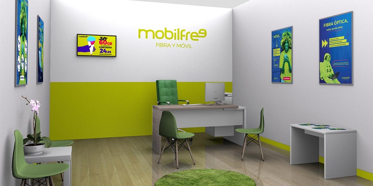 Franquicia y puntos de venta comerciales Mobilfree