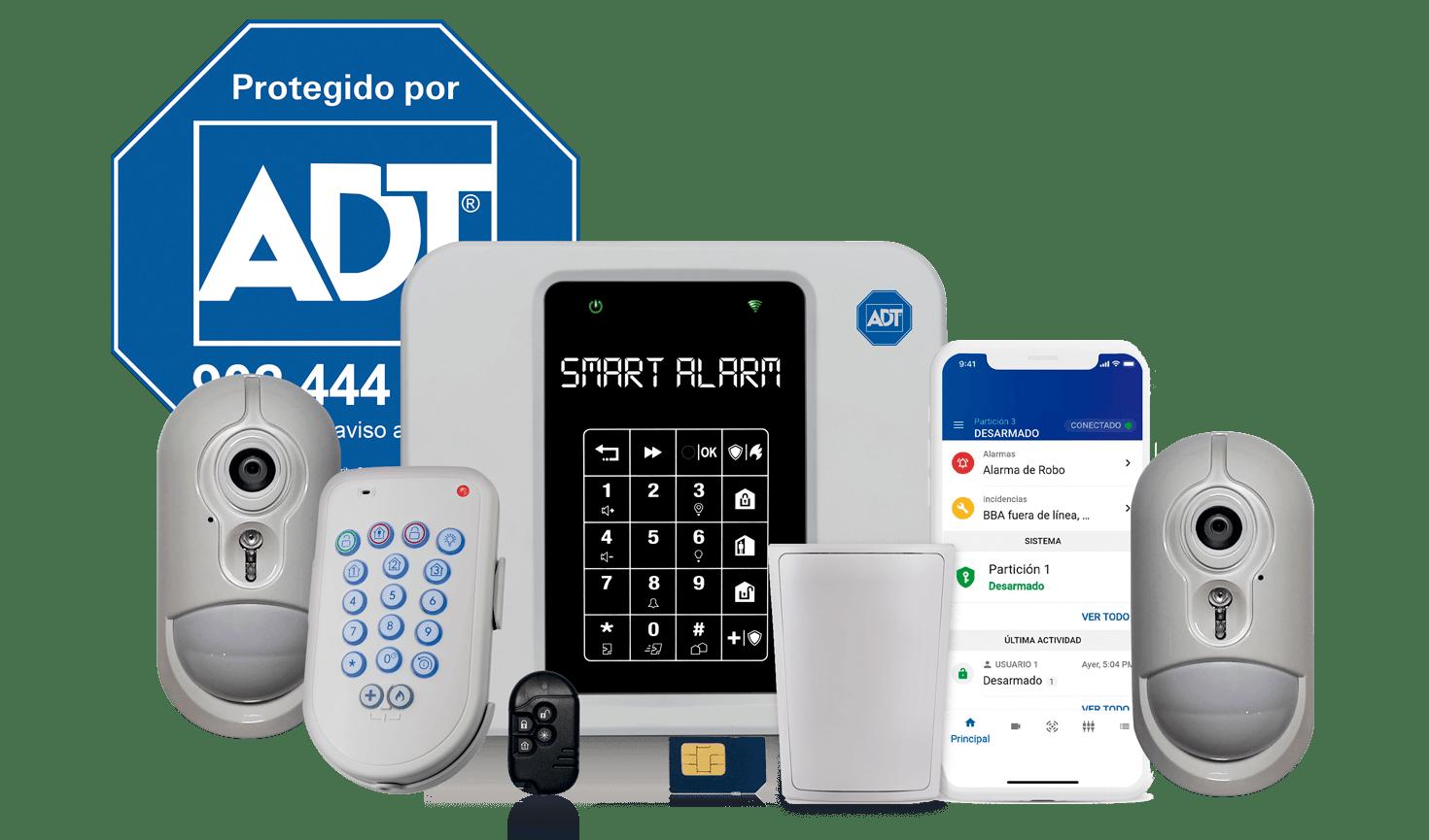 Servicio de alarma ADT